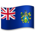 Flag: Pitcairn Islands on LG G5