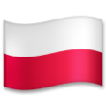 Flag: Poland on LG G5