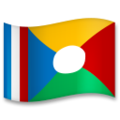 Flag: Réunion on LG G5