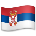 Flag: Serbia on LG G5