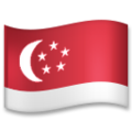 Flag: Singapore on LG G5