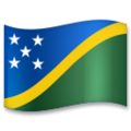 Flag: Solomon Islands on LG G5
