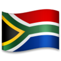 Flag: South Africa on LG G5