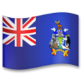 Flag: South Georgia & South Sandwich Islands on LG G5