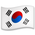 Flag: South Korea on LG G5