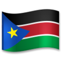 Flag: South Sudan on LG G5