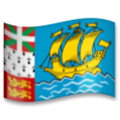 Flag: St. Pierre & Miquelon on LG G5
