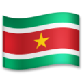 Flag: Suriname on LG G5