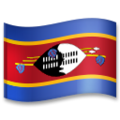 Flag: Eswatini on LG G5