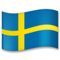 Flag: Sweden on LG G5