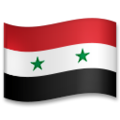 Flag: Syria on LG G5