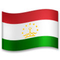 Flag: Tajikistan on LG G5