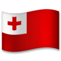 Flag: Tonga on LG G5