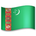 Flag: Turkmenistan on LG G5