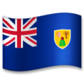 Flag: Turks & Caicos Islands on LG G5