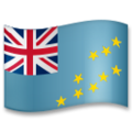Flag: Tuvalu on LG G5