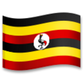 Flag: Uganda on LG G5