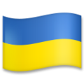 Flag: Ukraine on LG G5