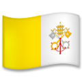 Flag: Vatican City on LG G5