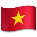 Flag: Vietnam on LG G5