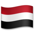 Flag: Yemen on LG G5