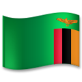 Flag: Zambia on LG G5