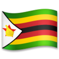 Flag: Zimbabwe on LG G5