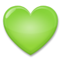 Green Heart on LG G5