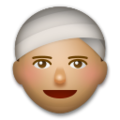 Person Wearing Turban: Medium Skin Tone on LG G5