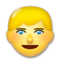 Person: Blond Hair on LG G5