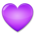 Purple Heart on LG G5