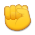 Raised Fist on LG G5