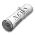 Rolled-Up Newspaper on LG G5