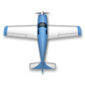 Up-Pointing Small Airplane on LG G5
