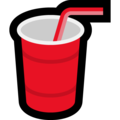 Cup With Straw on Microsoft Windows 10 April 2018 Update
