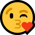 Face Blowing a Kiss on Microsoft Windows 10 April 2018 Update