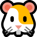 Hamster Face on Microsoft Windows 10 April 2018 Update