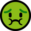 Nauseated Face on Microsoft Windows 10 April 2018 Update