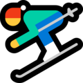 Skier on Microsoft Windows 10 April 2018 Update