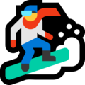 Snowboarder on Microsoft Windows 10 April 2018 Update