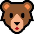 Bear Face on Microsoft Windows 10 October 2018 Update