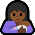 Breast-Feeding: Medium-Dark Skin Tone on Microsoft Windows 10 October 2018 Update