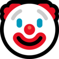 Clown Face on Microsoft Windows 10 October 2018 Update