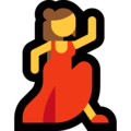 Woman Dancing on Microsoft Windows 10 October 2018 Update