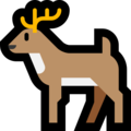 Deer on Microsoft Windows 10 October 2018 Update
