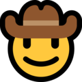 Cowboy Hat Face on Microsoft Windows 10 October 2018 Update
