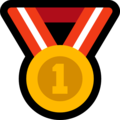 1st Place Medal on Microsoft Windows 10 October 2018 Update