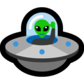 Flying Saucer on Microsoft Windows 10 October 2018 Update