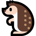 Hedgehog on Microsoft Windows 10 October 2018 Update
