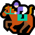 Horse Racing: Light Skin Tone on Microsoft Windows 10 October 2018 Update